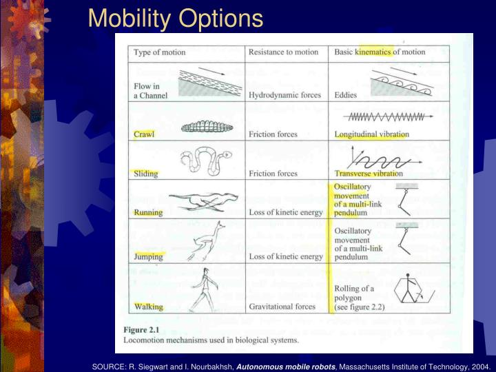 Mobility Options