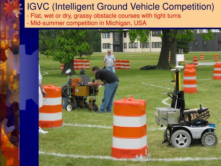 IGVC (Intelligent Ground Vehicle Competition)
