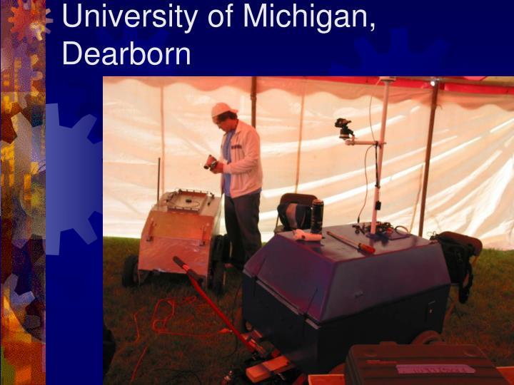 University of Michigan, Dearborn