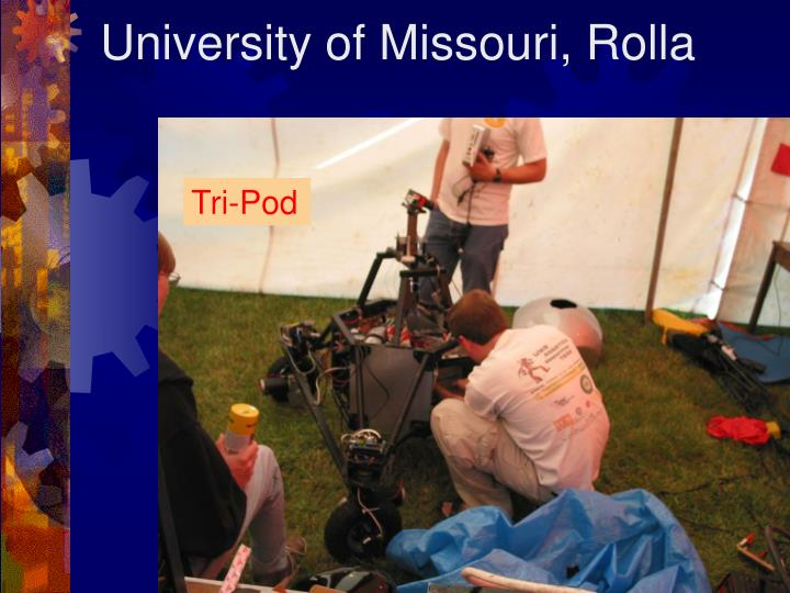 University of Missouri, Rolla