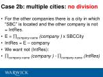 case 2b multiple cities no division1