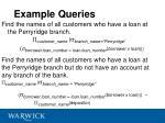 example queries1
