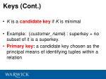 keys cont
