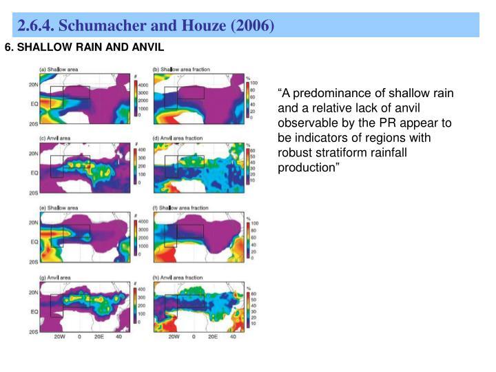 2.6.4. Schumacher and Houze (2006)