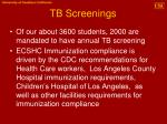 tb screenings