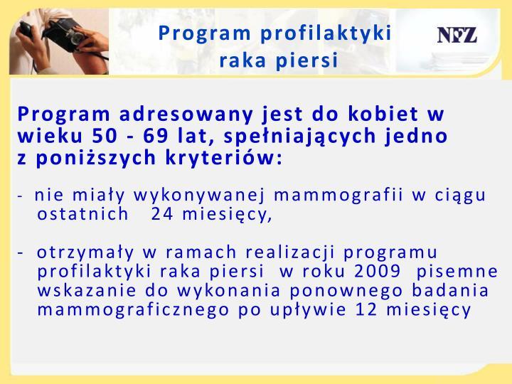 Program profilaktyki