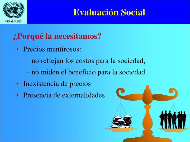 Evaluación Social