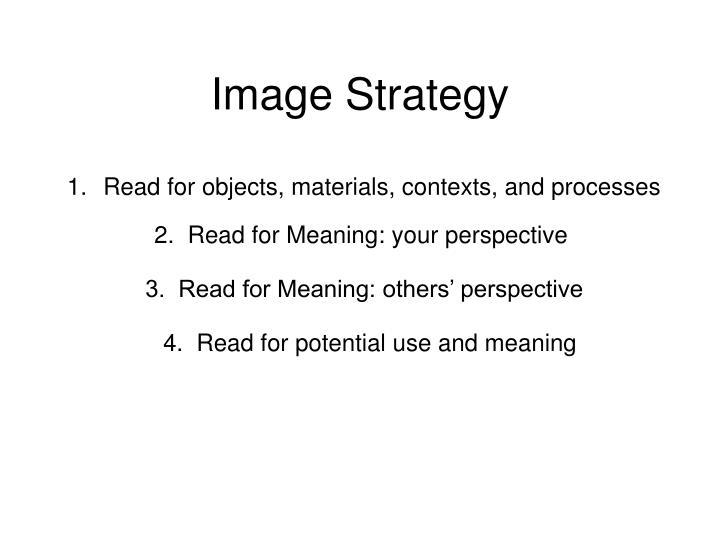 Image Strategy