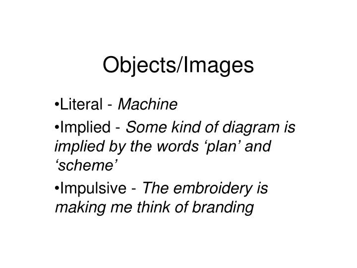 Objects/Images