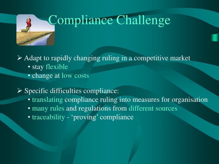 Compliance Challenge