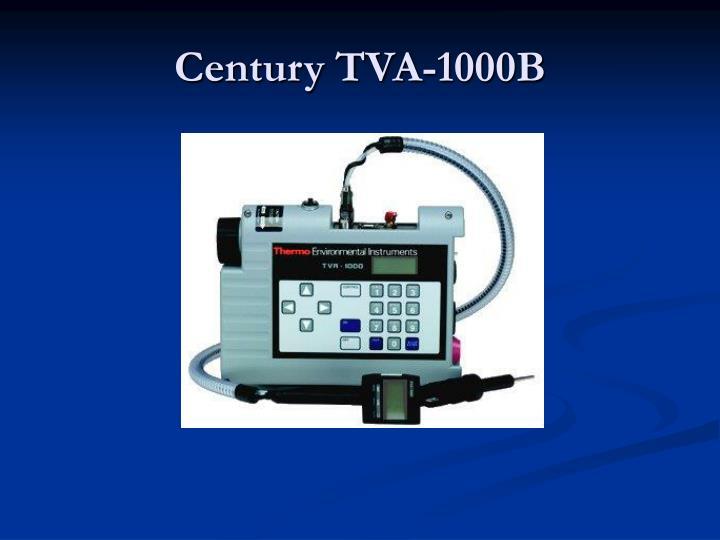 Century TVA-1000B