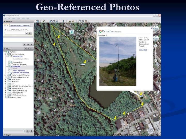 Geo-Referenced Photos