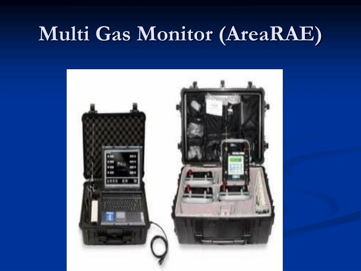 Multi Gas Monitor (AreaRAE)