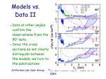models vs data ii