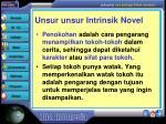 unsur unsur intrinsik novel3