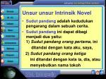 unsur unsur intrinsik novel5