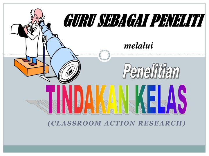 classroom action research n.