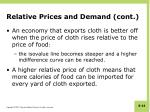 relative prices and demand cont3