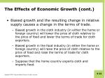 the effects of economic growth cont1