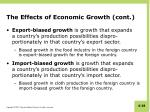 the effects of economic growth cont2