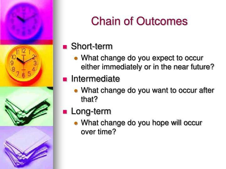 Chain of Outcomes