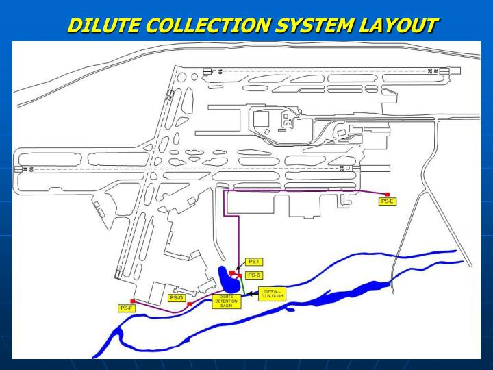 DILUTE COLLECTION SYSTEM LAYOUT