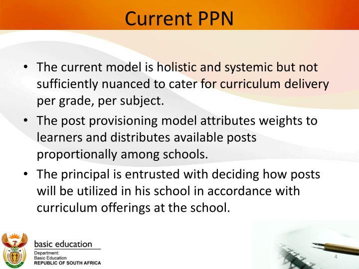 Current PPN