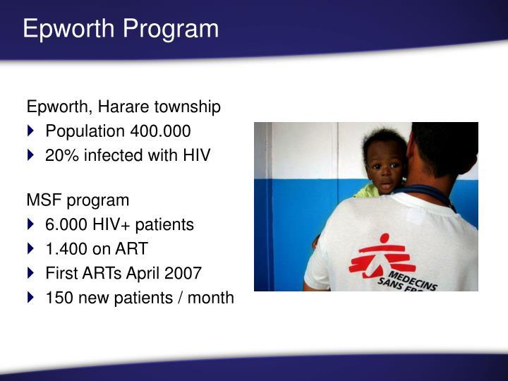 Epworth Program