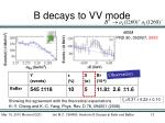 b decays to vv mode4