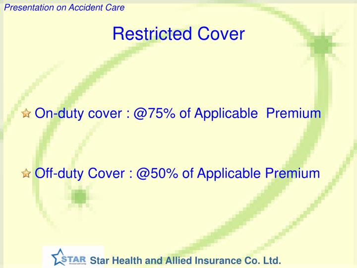 Restricted Cover
