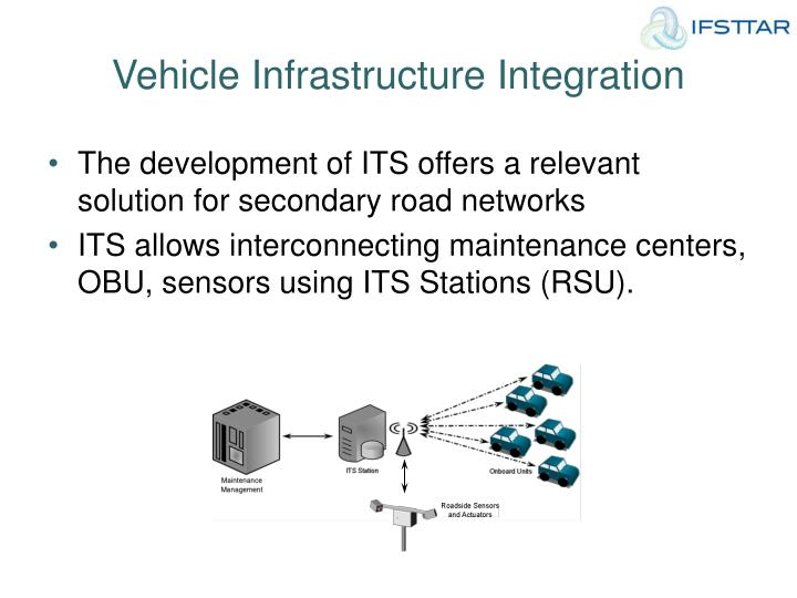 Vehicle Infrastructure Integration