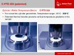 c ptd 200 patented