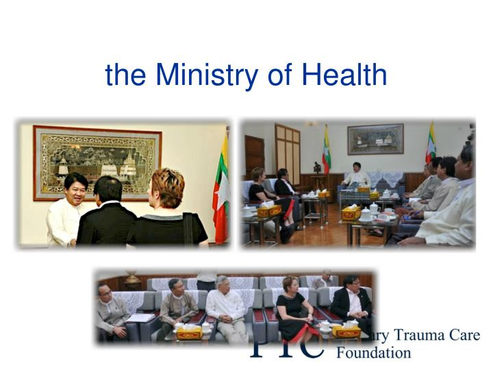 the Ministry of Health