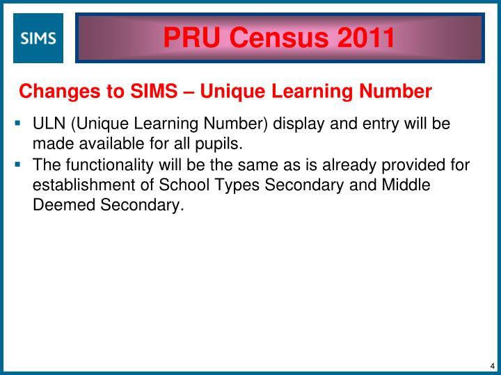 PRU Census 2011