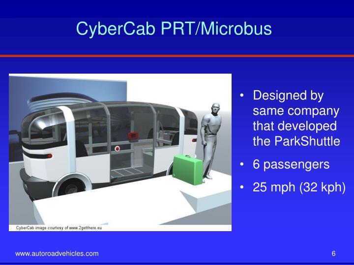 CyberCab PRT/Microbus