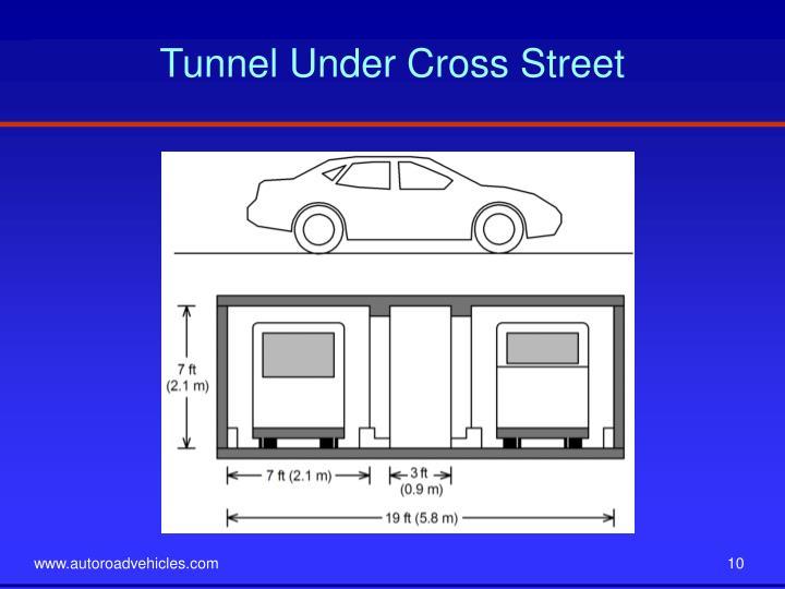 Tunnel Under Cross Street
