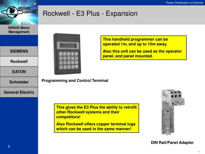 Rockwell - E3 Plus - Expansion