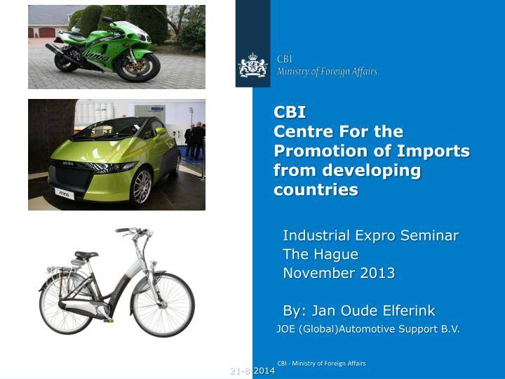 cbi centre for the promotion of imports from developing countries n.