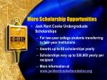 more scholarship opportunities1