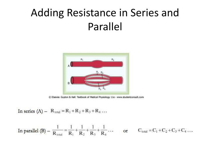 Adding Resistance in Series and Parallel