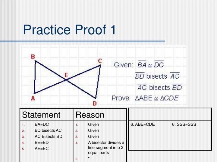 Practice proof 1