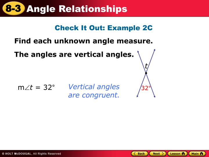 Check It Out: Example 2C