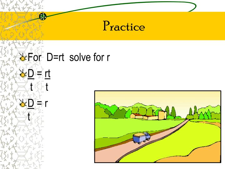Ppt 36 Literal Equations And Formulas Powerpoint Presentation