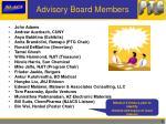 advisory board members