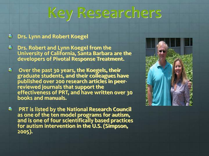 Key Researchers
