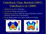 unkelbach chan bortfeld 2007 unkelbach et al 2009