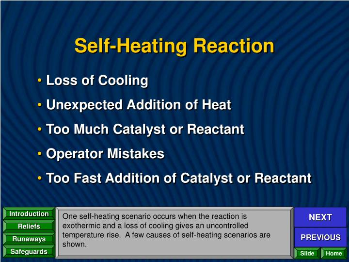 Self-Heating Reaction