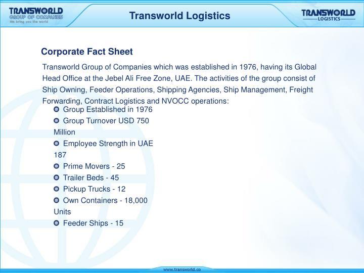 corporate fact sheet n.