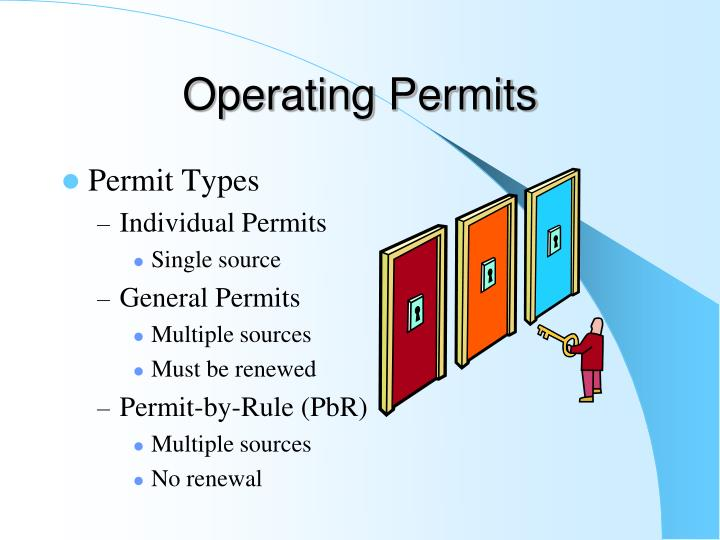 Operating Permits