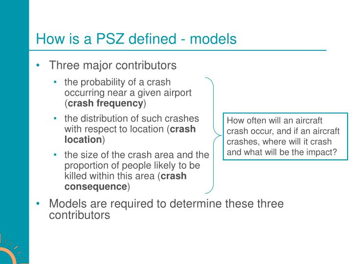 How is a PSZ defined - models